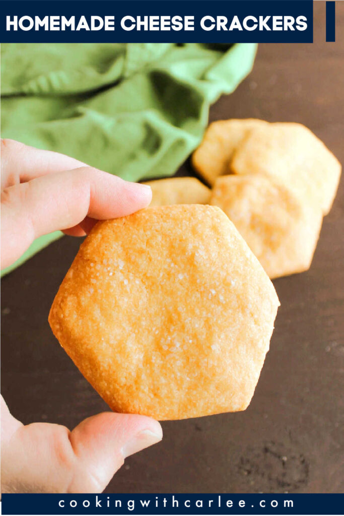 If you can run a food processor and a rolling pin, you can make your own cheese crackers. Make them with a nice sharp cheddar for a cheez-it copycat or switch up the varieties of cheese to match your crackers to your mood.