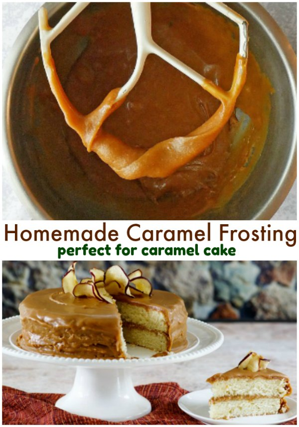 Perfect real deal homemade southern caramel frosting perfect for caramel cakes and more! This is the caramel frosting you want to make it extra delicious!