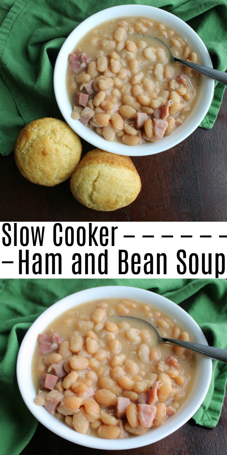 Ham and bean soup is a perfect cold weather meal. It is especially great if you have some leftover ham to use up. Make a pot and some cornbread today!