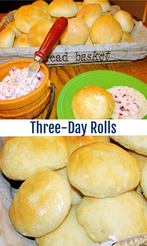 These rolls are so fluffy and soft. You can start the dough up to three days ahead of time, so they are perfect for your holiday table!