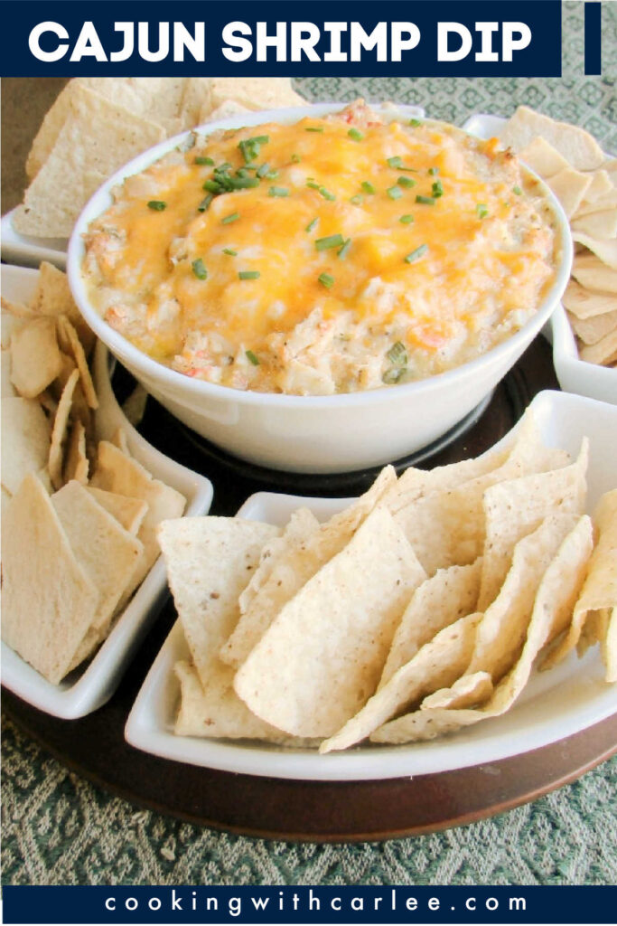 Just the right amount of spice, plenty of shrimp and gooey melty cheese make this so hard to stop eating once you get started. Make some for your next party and you won't be disappointed! It's a great game day appetizer too!