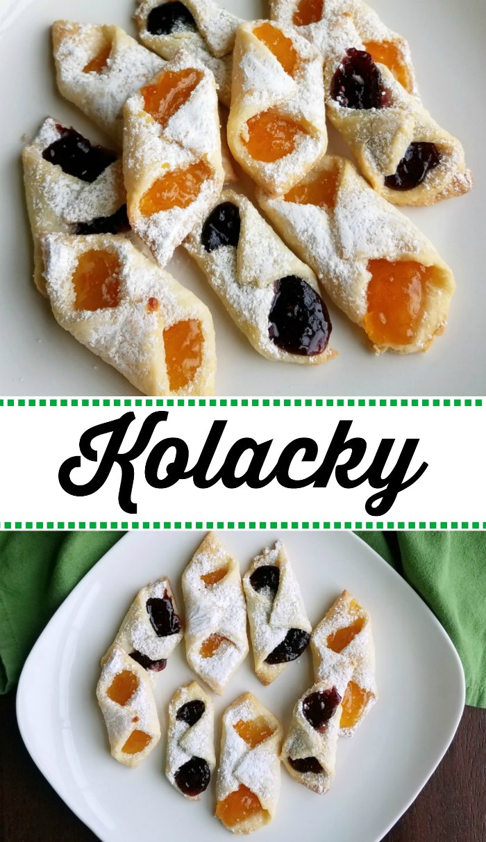 It wouldn't be Christmas without some homemade Kolacky.  They are a tradition in my husband's family and one that I am glad to keep going. They are a delicious cookie that will be the star of your holiday tray!
