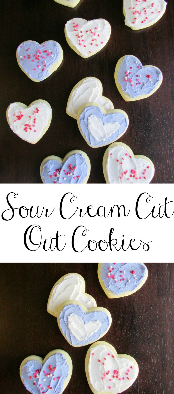 These sour cream cookies are a long time family favorite recipe.  They are soft, flavorful and perfect as drop cookies or cut outs.