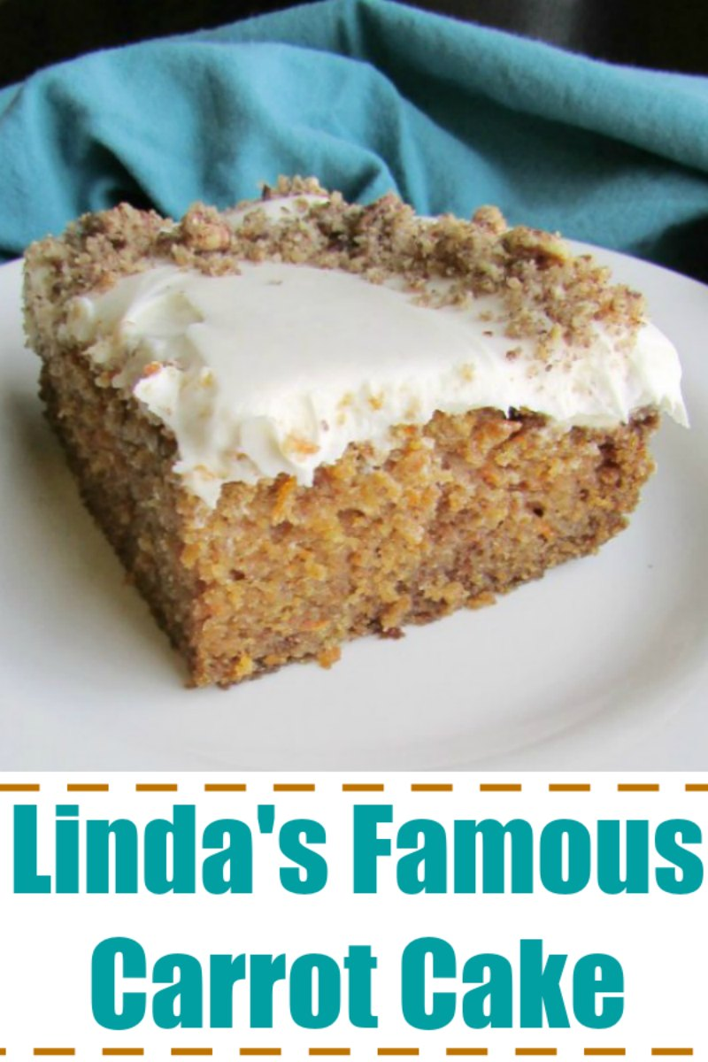 This is a simple 9×13 carrot cake that is a long time favorite of the family. It is a staple at carry-ins and is perfect for Easter. Of course it has a cream cheese frosting or can be jazzed up with a little maple cream cheese frosting if you'd like!