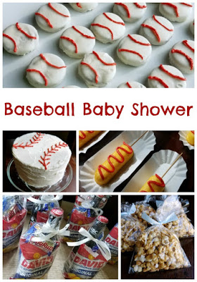 A little rookie is coming soon, so it's time to celebrate! This baseball shower was a perfect way to celebrate my sister and my soon to be nephew!