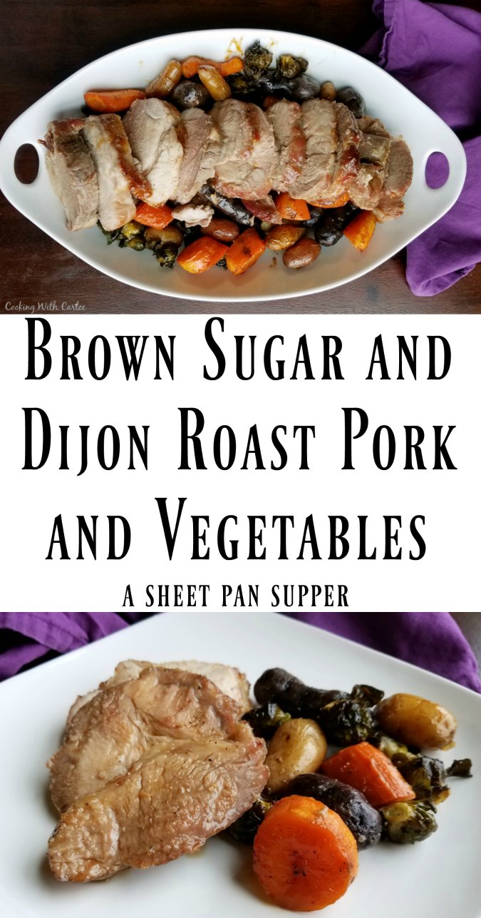 This simple sheet pan meal doesn't take a lot of prep, but pays off big in flavor. It is easy enough for a family dinner but nice enough to serve to guests!
