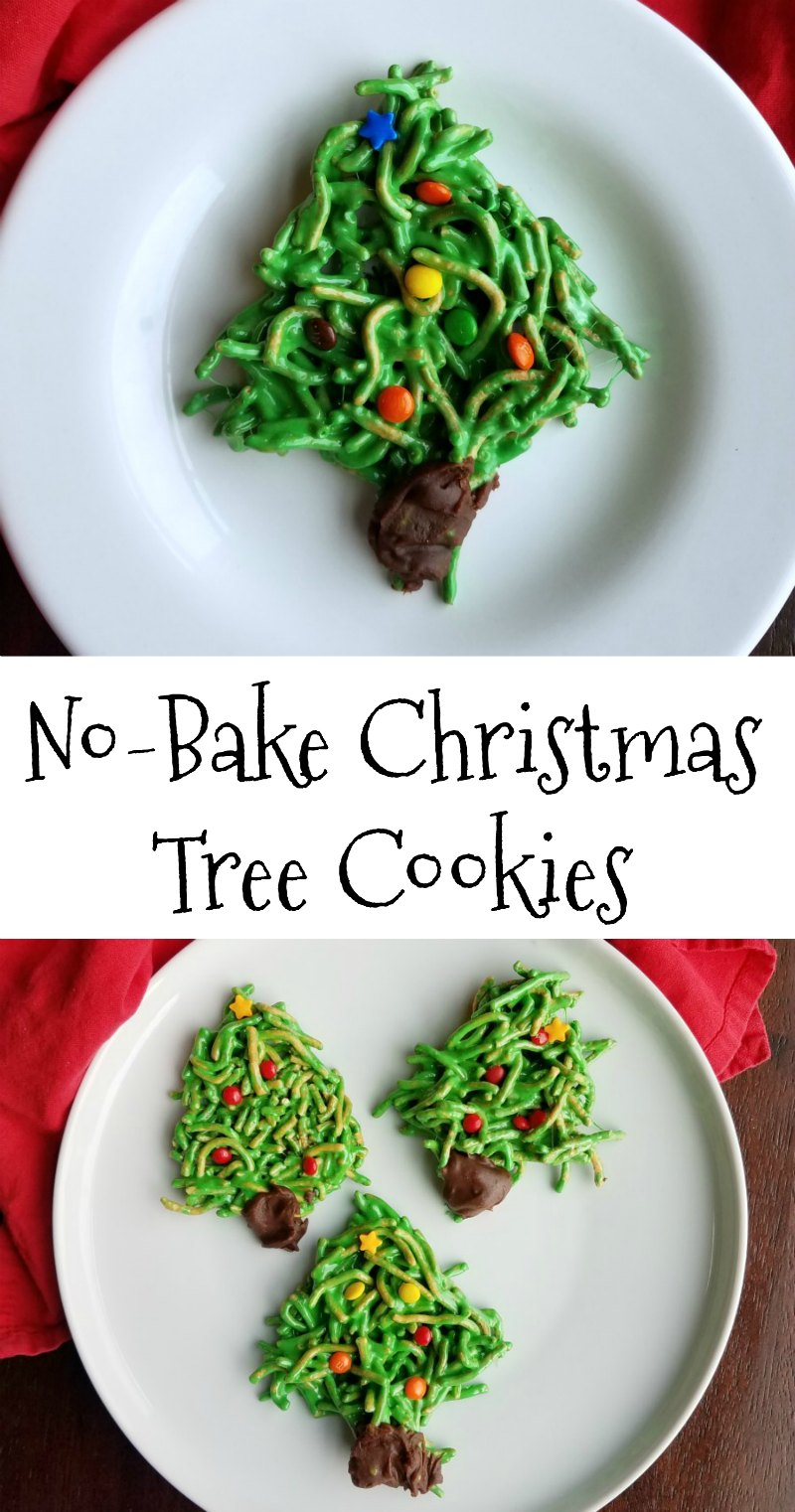 These festive cookies are a Christmasy twist on a favorite family recipe. They are no-bake and sure to put a smile on your face!
