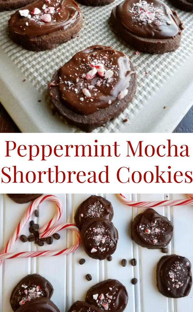 These peppermint mocha shortbread cookies are just like the coffee house drink but in chewable form. Put some on your Christmas cookie trays to take them to the next level!