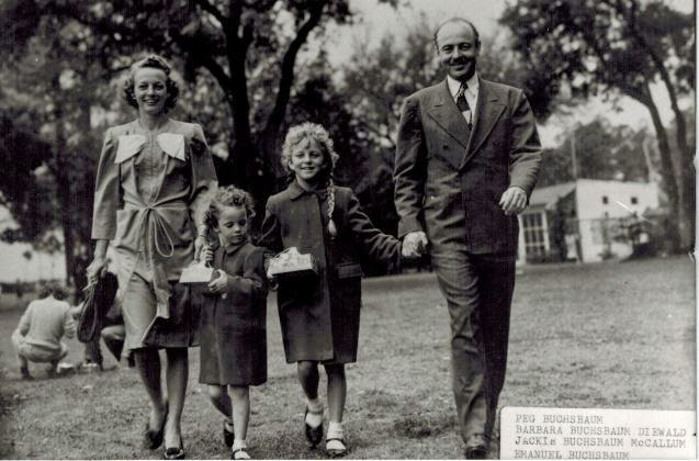 vintage picture of my grandma as a child along with her sister and my great-grandparents