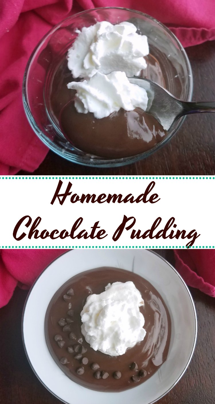 Creamy smooth and luscious, this homemade chocolate pudding is comforting and delicious. It is easy to make with pantry staples and definitely worth the effort!