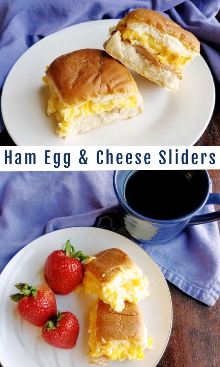 ham egg cheese sliders