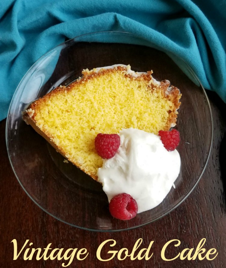 A delicious cake that is made not with butter, but egg yolks!  It is a light and simple to make cake and a great way to use yolks left from meringues or angel food cakes.