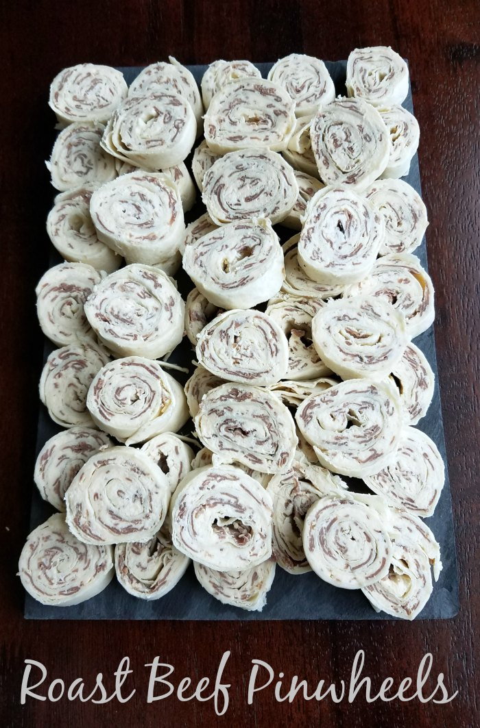 Simple flavorful finger foods are a must at a party. These 4 ingredient roast beef pinwheels fit the bill and are a great make ahead snack to boot! So go ahead and put them on the menu at your next shindig. You'll be glad you did!
