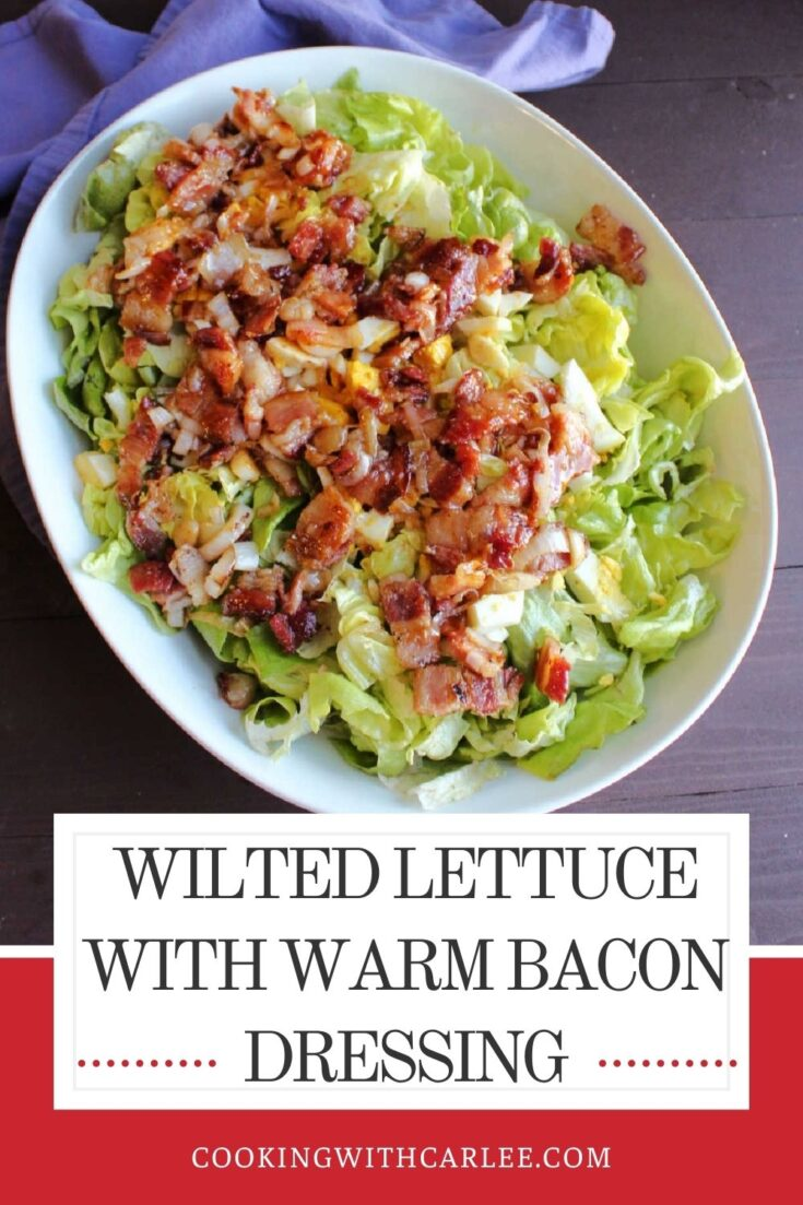 bacon wilted lettuce