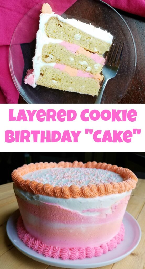 Special occasion cookies just went to the next level! Layers of cookie and plenty of frosting, making it perfect for a celebration!