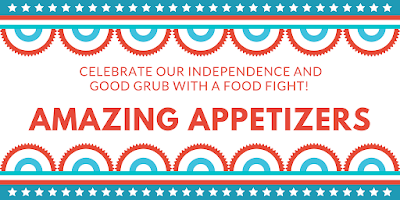 invitation graphic for appetizer cookoff