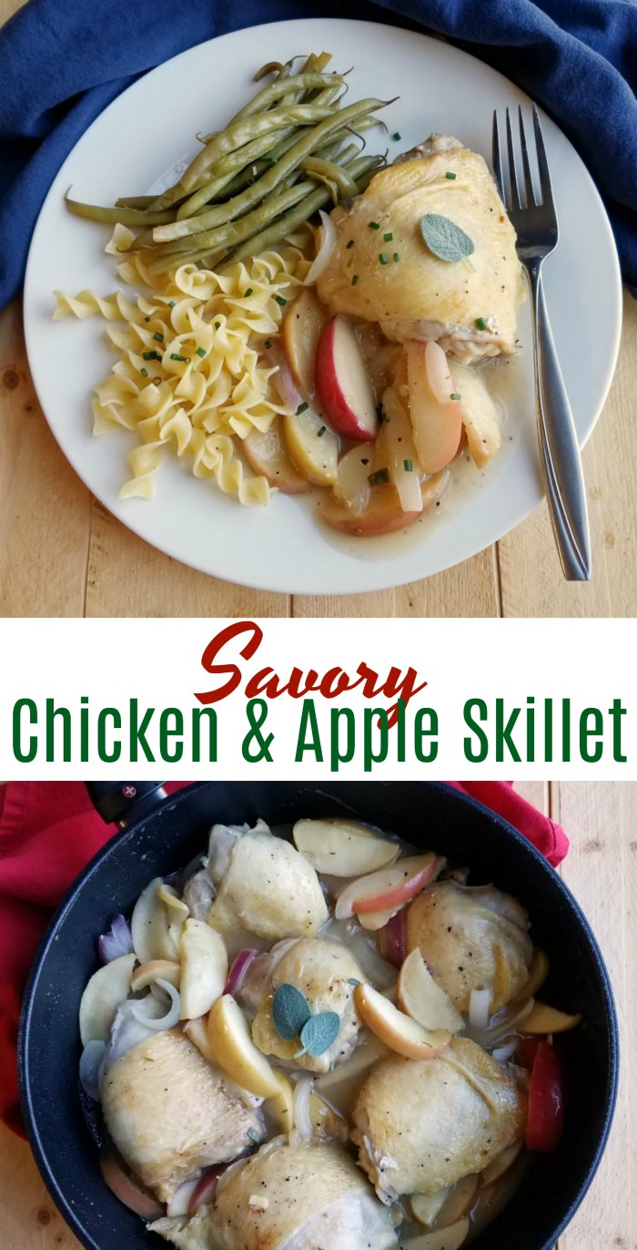 A fabulous dinner loaded with apples, onions and chicken. This savory meal is sure to win over your family and special guests too!