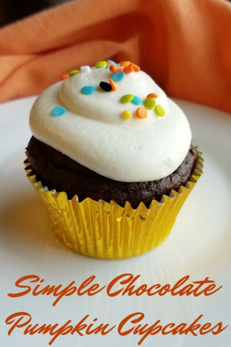 simple2Bchocolate2Bpumpkin2Bcupcakes