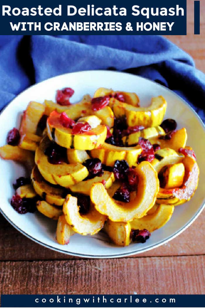 delicata and cranberries