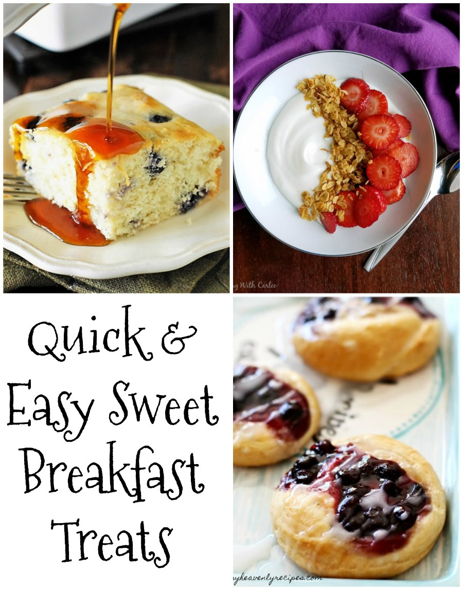 The best Christmas breakfast recipe ideas in one place.  They are all either quick and easy or can be prepped ahead so that you aren't running around on Christmas morning.