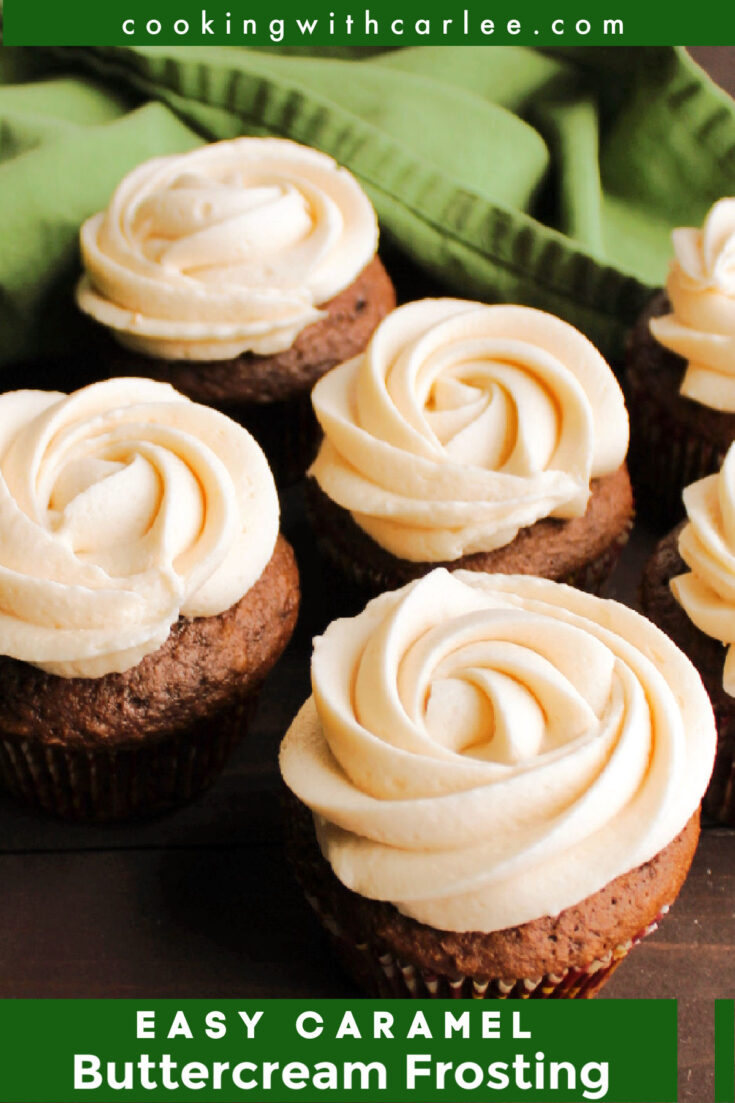 caramel buttercream
