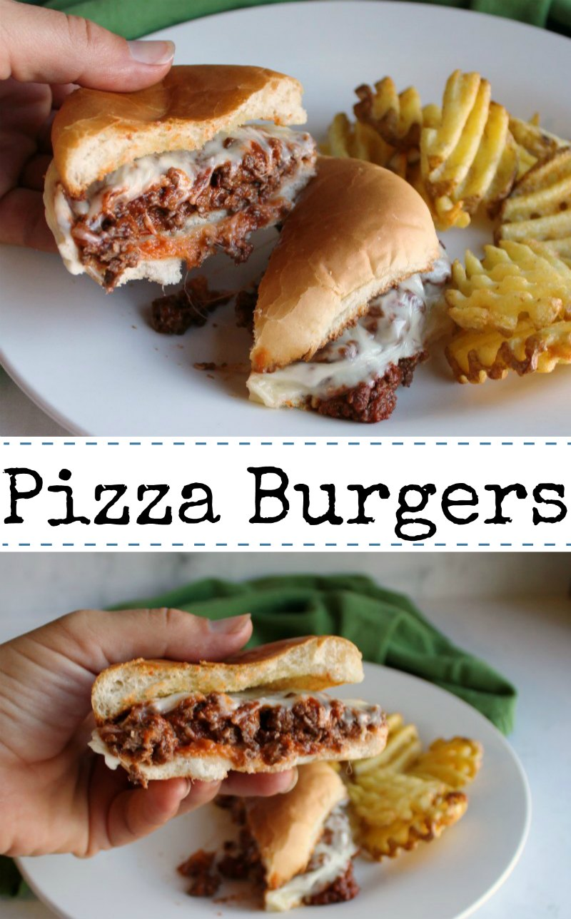 Quick and easy pizza burgers are a nostalgic meal that will remind you of childhood. They are a delicious way to get dinner on the table in a hurry.