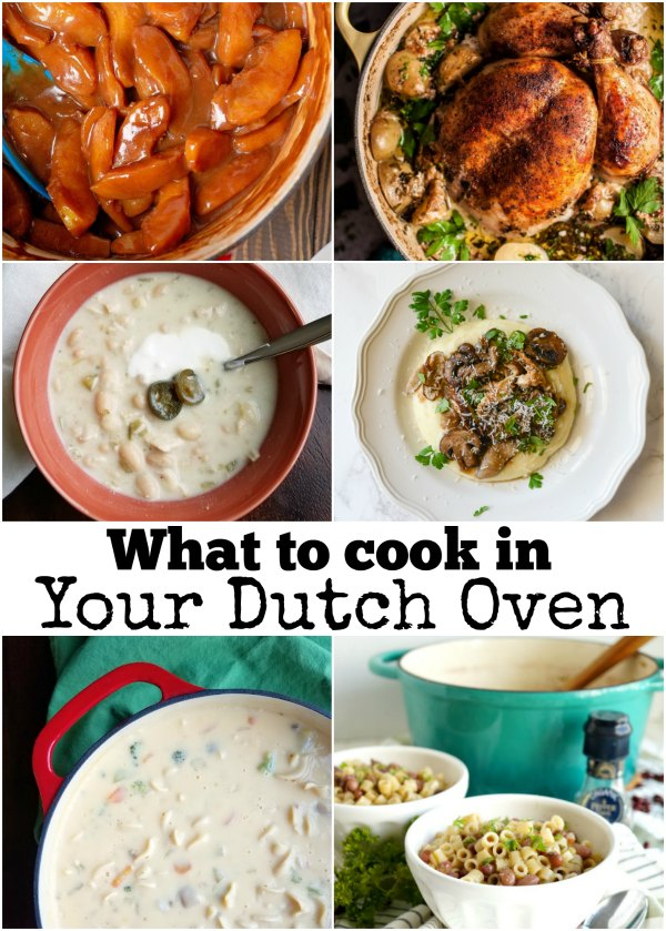Do you have a pretty new dutch oven just itching to be used, but no idea what to do with it? Don't worry, here are some great ideas to get you started on your dutch oven loving journey!