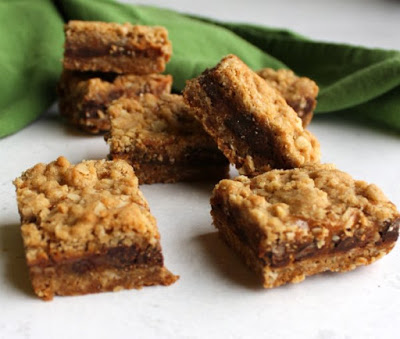 piles of brown sugar caramel and chocolate bars