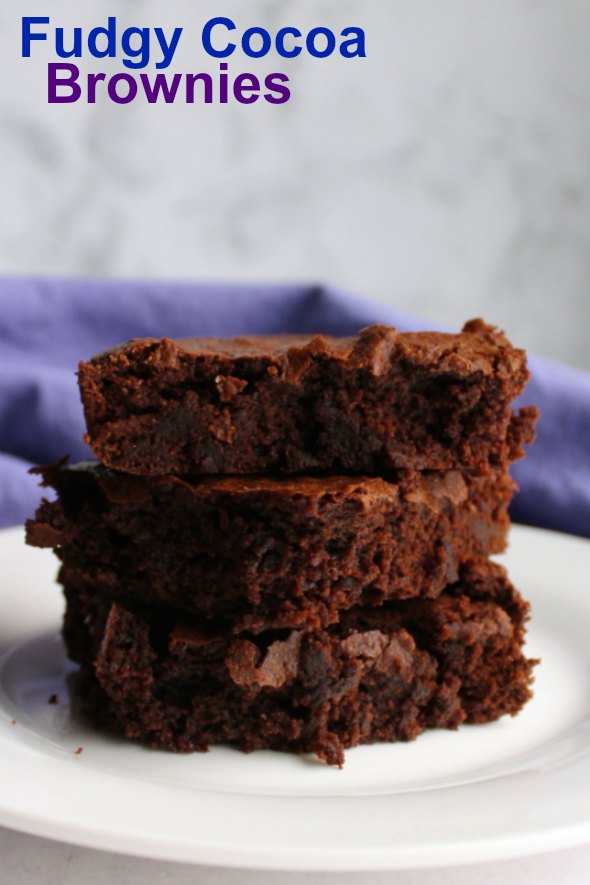 fudgy2Bcocoa2Bbrownies