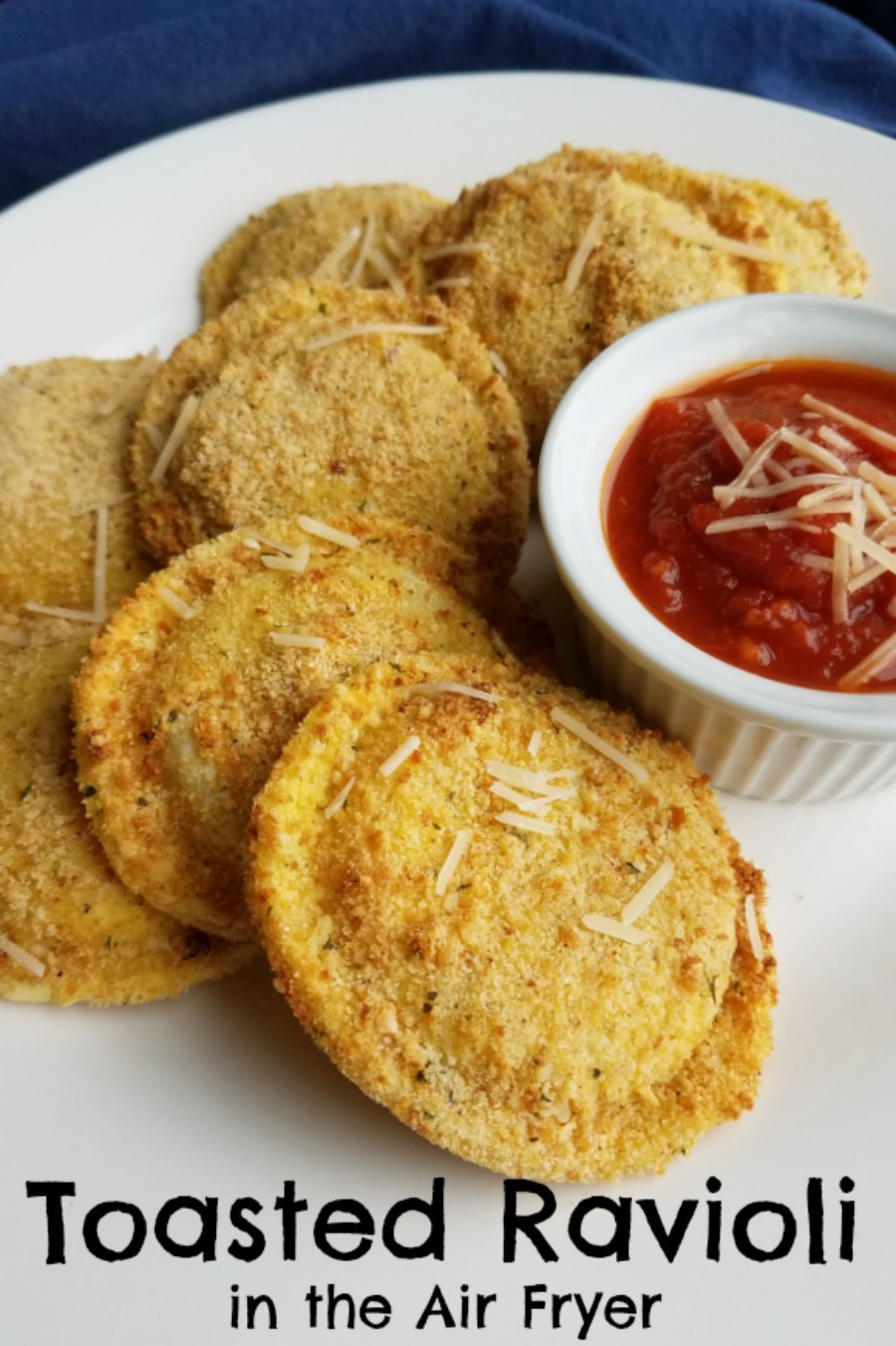 Have you ever had toasted ravioli? They are a classic in the St. Louis area, so naturally being located so close we are familiar with them as well. Get those golden crispy appetizers at home without the mess or smell of frying. Make them in an air fryer instead!