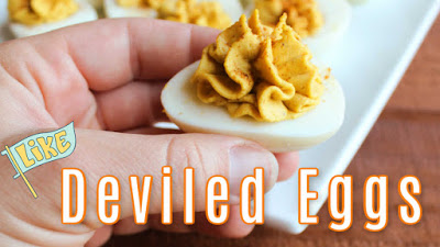 thumbnail for youtube deviled egg video