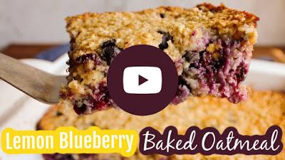 thumbnail for video of lemon blueberry oatmeal