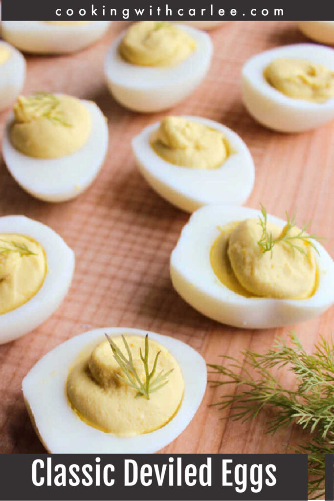 These deviled eggs are everything you'd want them to be. They are creamy, tangy and just a tiny bit sweet.  They are perfect for snacking on, great for picnics and potlucks and a must at a BBQ. Follow MiMi's tips and tricks to get perfect deviled eggs every time. But don't be surprised if they disappear right before your very eyes.
