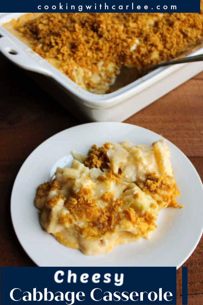 A cheesy side dish with a crunchy topping is the perfect accompaniment to so many dinners. Make that side out of cabbage for a fun twist on the cheesy potato casserole we all love!