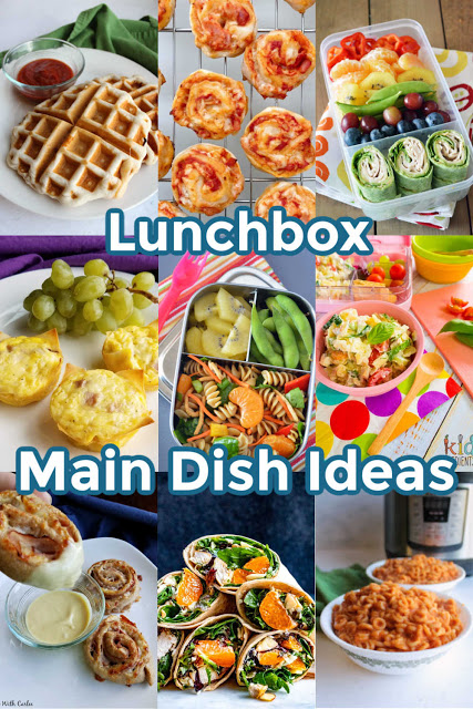 Get some great ideas to put in the kids' lunchboxes for back to school.  They will look forward to lunch and not want to trade with their friends!