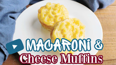 macaroni and cheese youtube video thumbnail