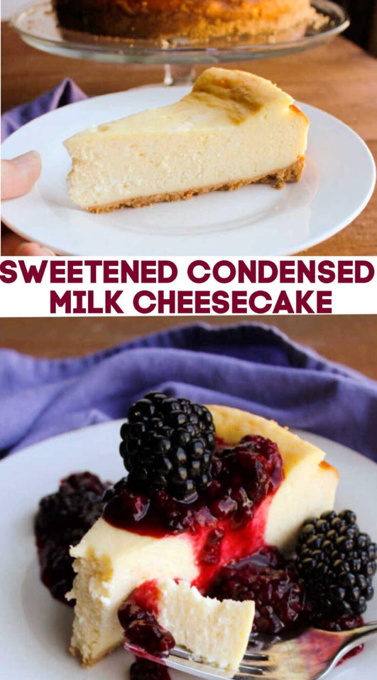 sweetened2Bcondensed2Bmilk2Bcheesecake