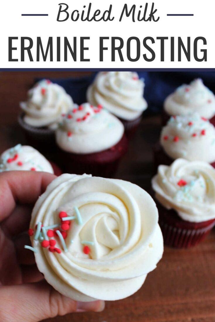 boile milk ermine frosting