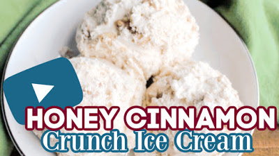 thumbnail for youtube video showing us making the ice cream