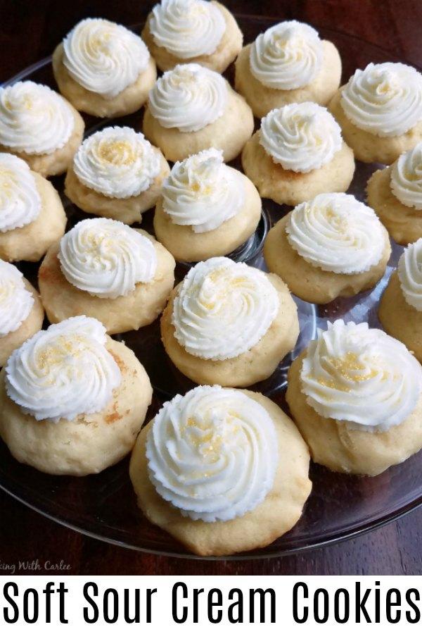 soft sour cream cookies