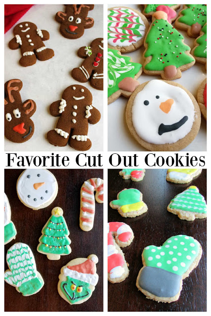 It is always fun to have a cookie cut in a pretty shaped and decorated with frosting, but you aren't limited to sugar cookies. There are lots of flavors and types of cookies you can roll and cut, here are a few of our favorite recipes.