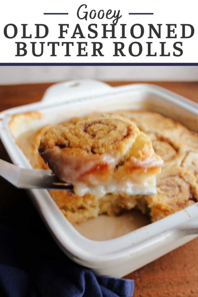 This yummy breakfast recipe is part biscuit like cinnamon rolls and part self saucing pudding cake. It has a gooey sauce that acts almost like a frosting that forms under the rolls. Enjoy them hot for the best breakfast experience.