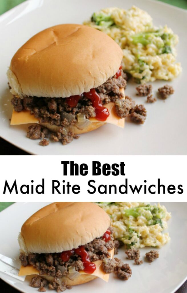 Maid rites, tavern burgers or loose meat sandwiches, are a super quick and easy dinner that your family is sure to love! They are a staple around here and for good reason!