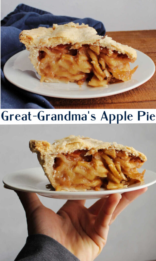 It is hard to beat a good apple pie. There is something so simple but so good about a great pie. That apple cinnamon filling is a classic for good reason. Now you can bake right from my great-grandmother's recipe to make the best possible pie.