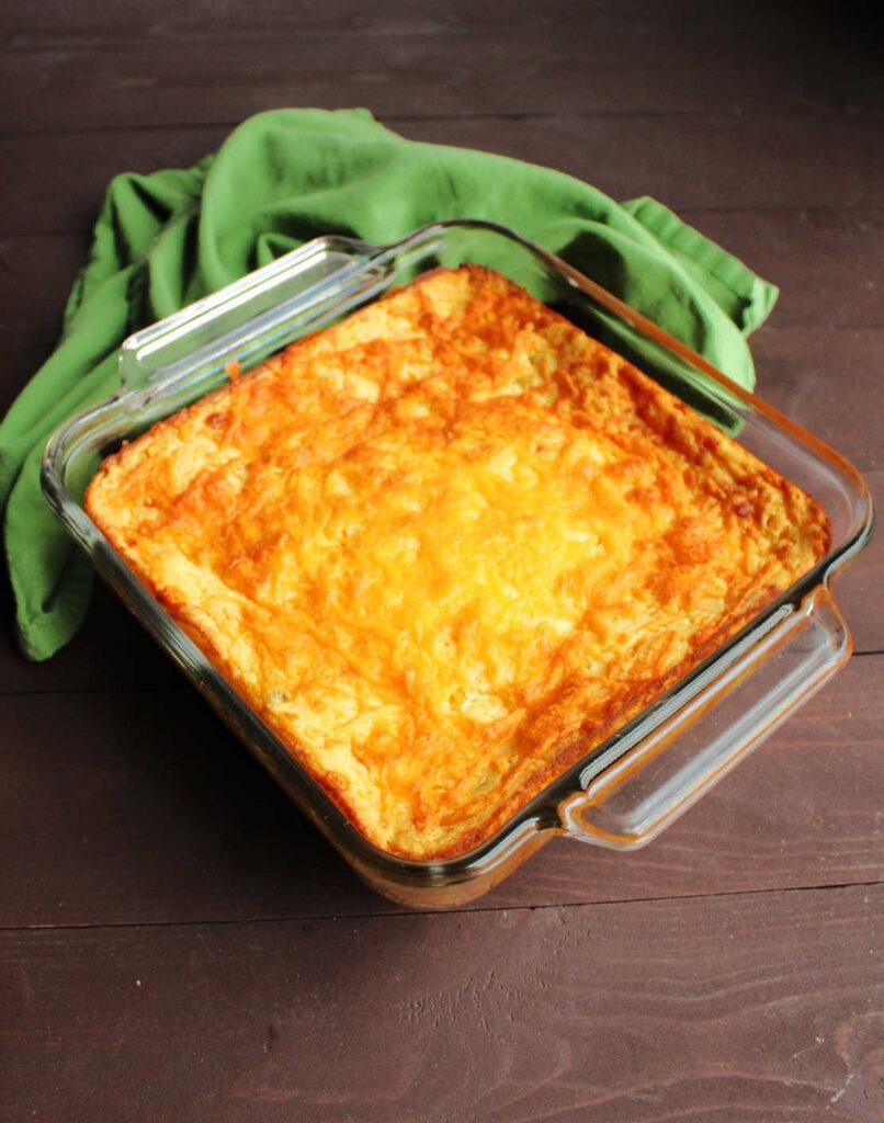 whole cheesy baked corn casserole
