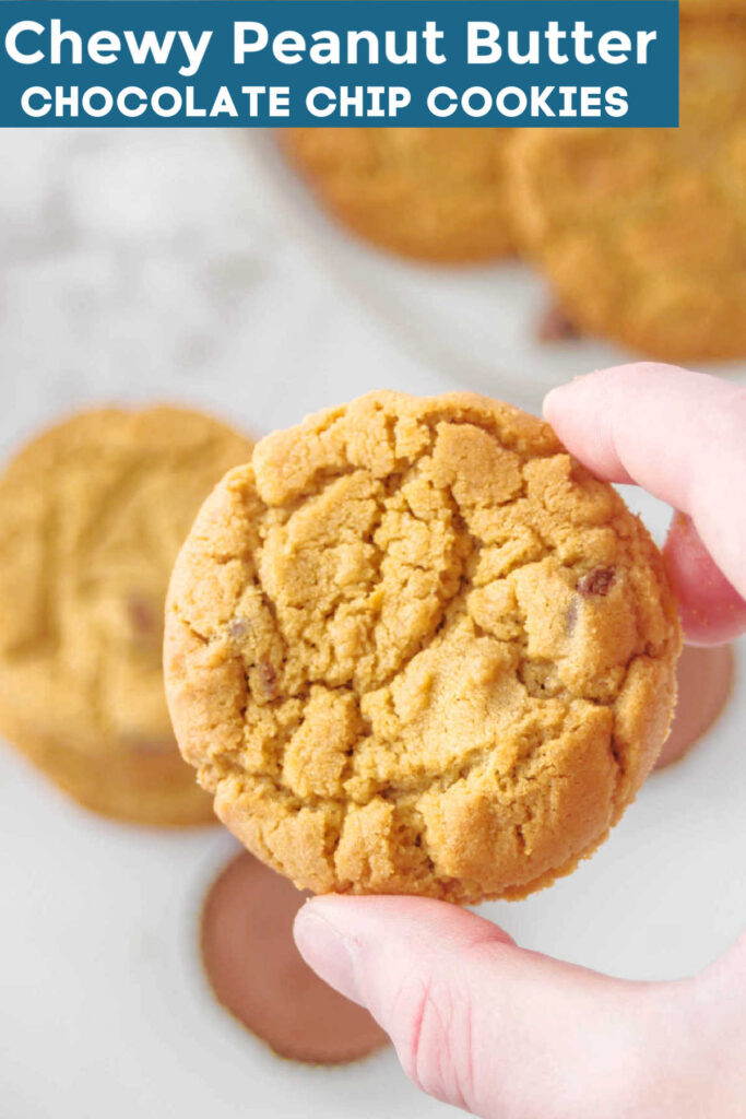 These delectable, rich, and buttery Chewy Peanut Butter Chocolate Chip cookies are nothing short of melt-in-your-mouth perfection. Starring the classic combination of peanut butter and chocolate, one taste of these cookies and you'll have a hard time looking at regular old chocolate chip cookies the same way again.
