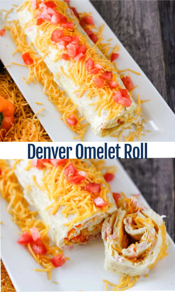 Make this fun Denver omelet roll for your family's breakfast. It's a great way to make omelets for the whole family at once!