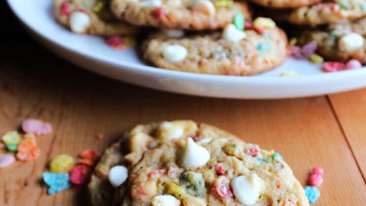 fruity pebble cookies