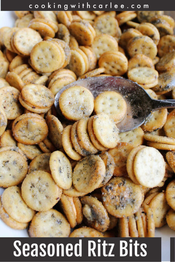 Flavorful snack mixes don't get any easier than this. Cheesy crackers coated in a delicious ranch mix. They are perfect for parties, tailgates, road trips and more!