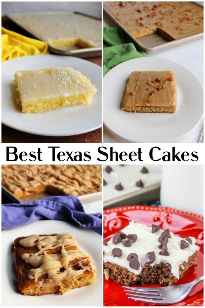 Texas sheet cakes are perfect for summer parties. They are easy to make, feed a crowd and are easy to take with you. If you have only ever had chocolate, you are in for a surprise because there are so many flavors you can make. Here are some of the best Texas sheet cake recipes out there.